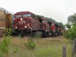 CP 8509 west at Coakley